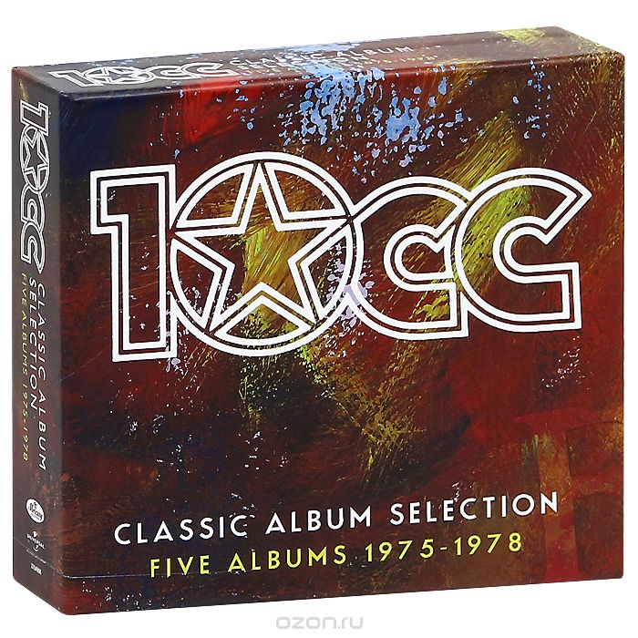 10 CC. Classic Album Selection. Five Albums 1975-1978 (6 CD)