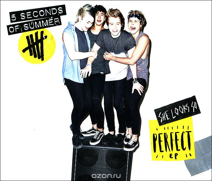 5 Seconds Of Summer. She Looks So Perfect