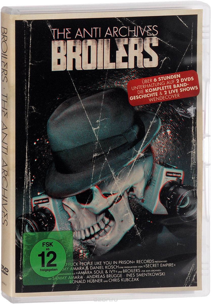 Broilers. The Anti Archives (2 DVD)