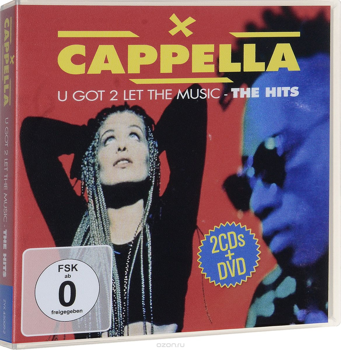 Cappella: U Got 2 Let The Music (2 CD + DVD)