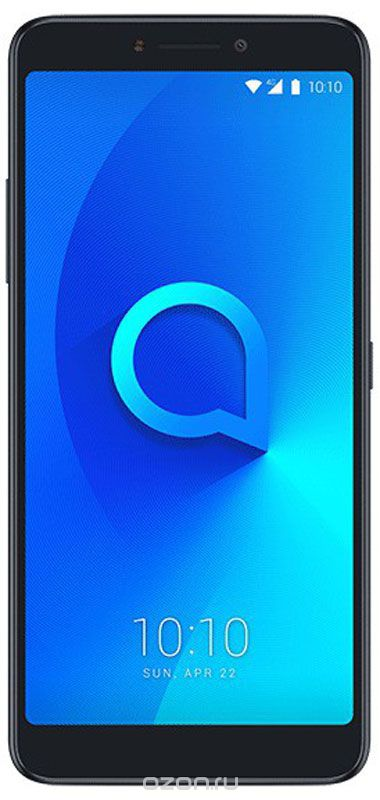 Alcatel 5099D 3V, Black